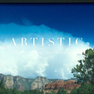 ARTISTIC MEDITATION
