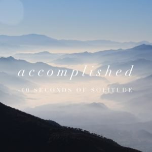 accomplished meditation