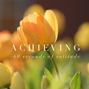 achieving meditation