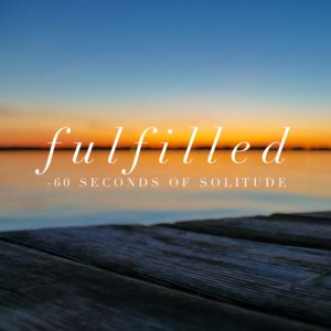 fulfilled meditation