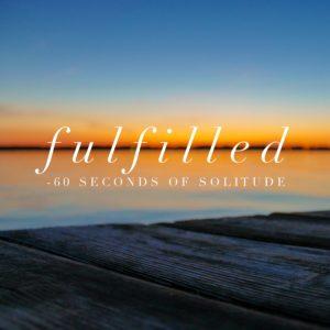fulfilled meditation