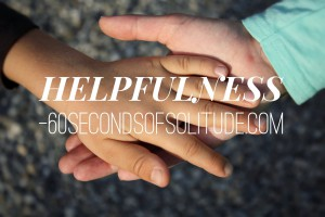 Meditation and Journaling helpfulness 60 Seconds of Solitude