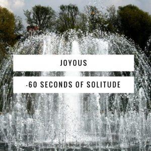 joyous meditation