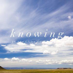 knowing meditation