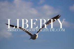 Meditation and Journaling liberty 60 Seconds of Solitude
