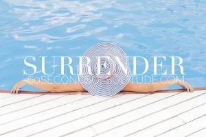 Meditation and Journaling surrender 60 Seconds of Solitude