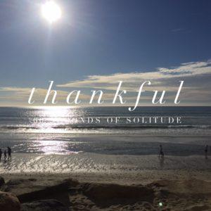 thankful meditation